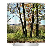 October In Vermont Shower Curtain