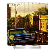 October Light In Duluth Shower Curtain