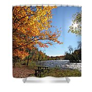 October Light Shower Curtain