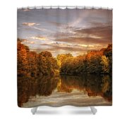 October Lights Shower Curtain