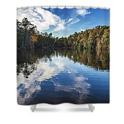 October Reflections Shower Curtain
