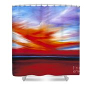 October Sky II Shower Curtain
