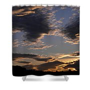 October Sky Shower Curtain