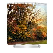 October Trail Shower Curtain