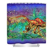 Octopus Garden Shower Curtain
