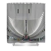 Oculus World Trade Center Wtc Transportation Hub Shower Curtain