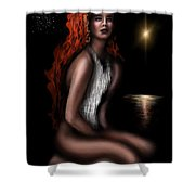 Odalisque Of Serenity  Shower Curtain