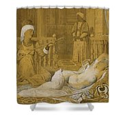 Odalisque With Slave Shower Curtain