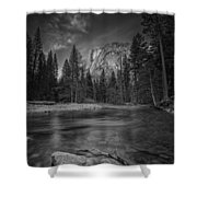 Ode To Ansel Adams Shower Curtain