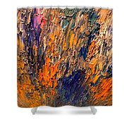 Ode To Nature -2  Shower Curtain
