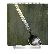 Ode To The Lone Spoon Print 1 Shower Curtain