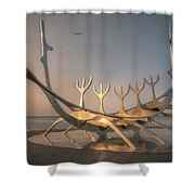 Ode To The Sun 0635 Shower Curtain