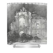 Odessa Theater  Shower Curtain