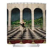 Odile From Swan Lake Shower Curtain