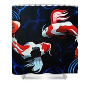 Odori Shower Curtain