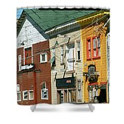Odyssey Records  On  Cannery Row Monterey 1976 Shower Curtain
