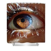 Oeil D'or Shower Curtain