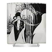 Of A Neophyte And How The Black Art Was Revealed Unto Him Shower Curtain