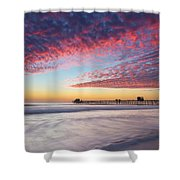 Of Milk Shakes And Cotton Candy Shower Curtain