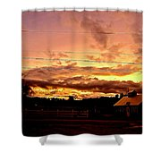 Rooftop Soliloquy Shower Curtain