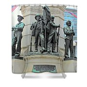 Of Soldiers And Sailors Shower Curtain
