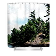 Of Summers Past Shower Curtain