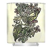 Of Sweet Vanilla Shower Curtain