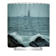 Off Cape Elizabeth Maine Shower Curtain
