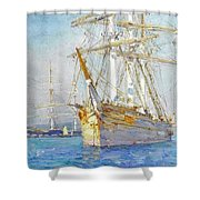 Off Falmouth Shower Curtain
