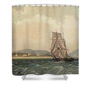 Off Mount Desert Island, Maine Shower Curtain