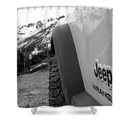 Off Roadin' 5 Shower Curtain