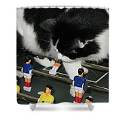 Off Side Shower Curtain