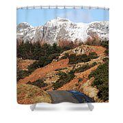 Off The Beaten Track Shower Curtain