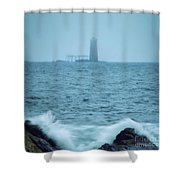 Off The Coast Of Cape Elizabeth Shower Curtain