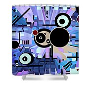 Off The Grid 61 Shower Curtain