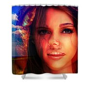 Off Topic With Melinda. Shower Curtain