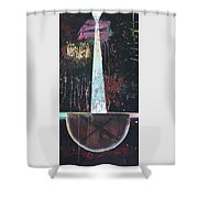 Offering Bowl 2 Shower Curtain