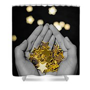 Offering Dreams Shower Curtain