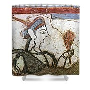 Offering Wheat Shower Curtain