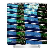 Office Abstract Shower Curtain