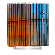 Office Colors Shower Curtain