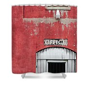 Office Door - Architecture Shower Curtain