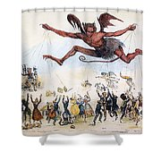 Office Hunters Of 1834: Shower Curtain