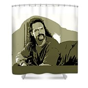 Office Space Lawrence Diedrich Bader Movie Quote Poster Series 006 Shower Curtain