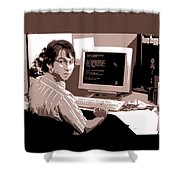 Office Space Michael Bolton Movie Quote Poster Series 004 Shower Curtain