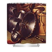 Officer Of The Marksman Society In Leiden Detail Shower Curtain