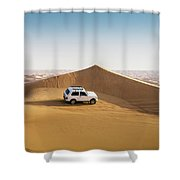Offroading In The United Arab Emirates Shower Curtain