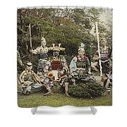 Ogawa, Kazumasa Sights And Scenes In Fair Japan. Shower Curtain