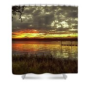Ogi Sunset Shower Curtain