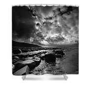 Ogmore By Sea 4 Shower Curtain